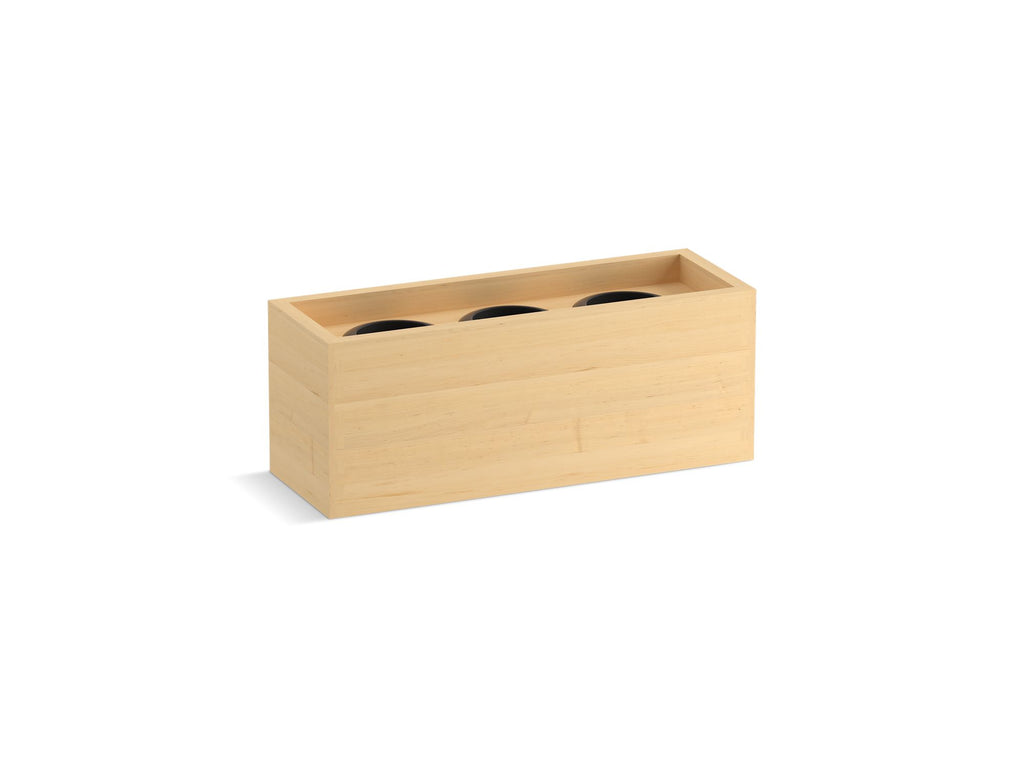 | ROLL-OUT APPLIANCE STORAGE | Natural Maple | GROF USA