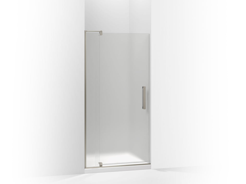 Shower Door | Revel | Anodized Brushed Nickel | GROF USA