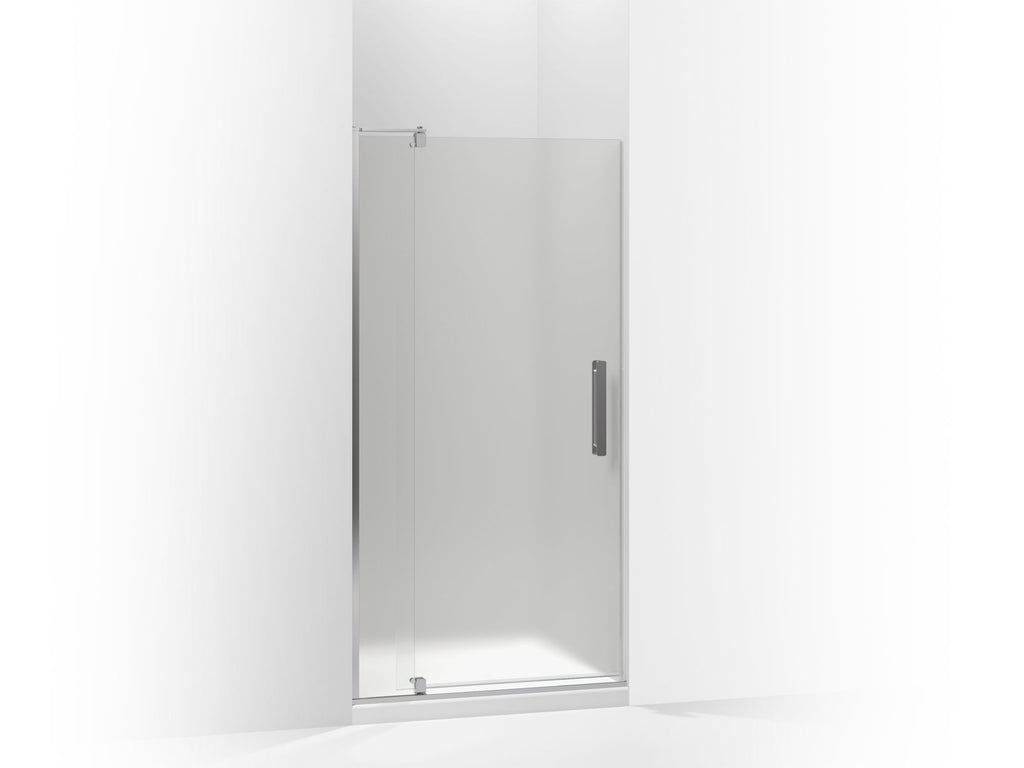 Shower Door | Revel | Bright Polished Silver | GROF USA