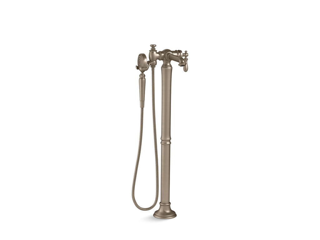 Bath Faucet Trim | Artifacts | Vibrant Brushed Bronze | GROF USA