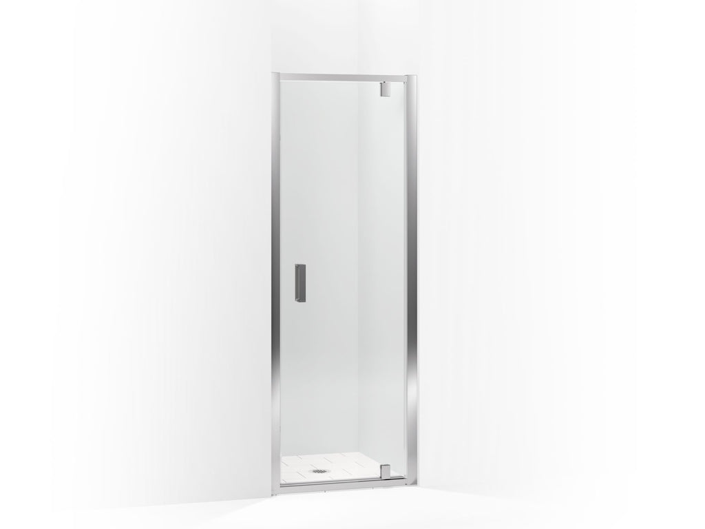 Shower Door | Aerie | Bright Polished Silver | GROF USA