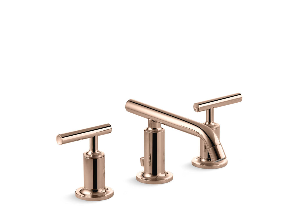 Bathroom Faucet | Purist | Vibrant Rose Gold | GROF USA