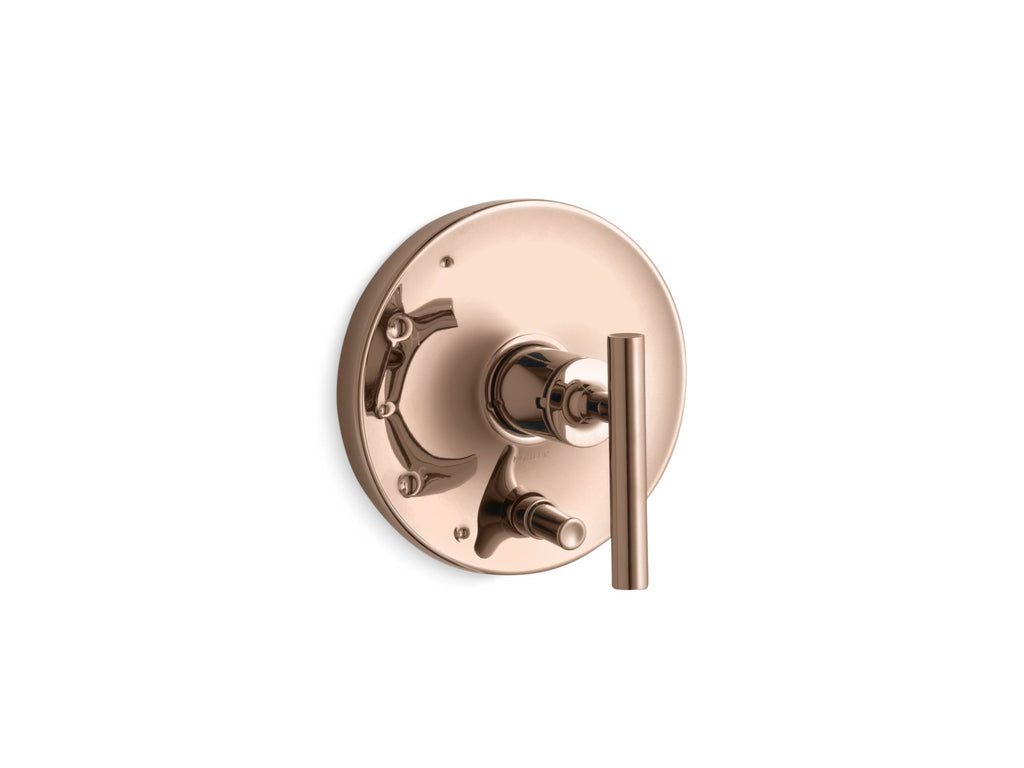 Valve Trim | Purist | Vibrant Rose Gold | GROF USA