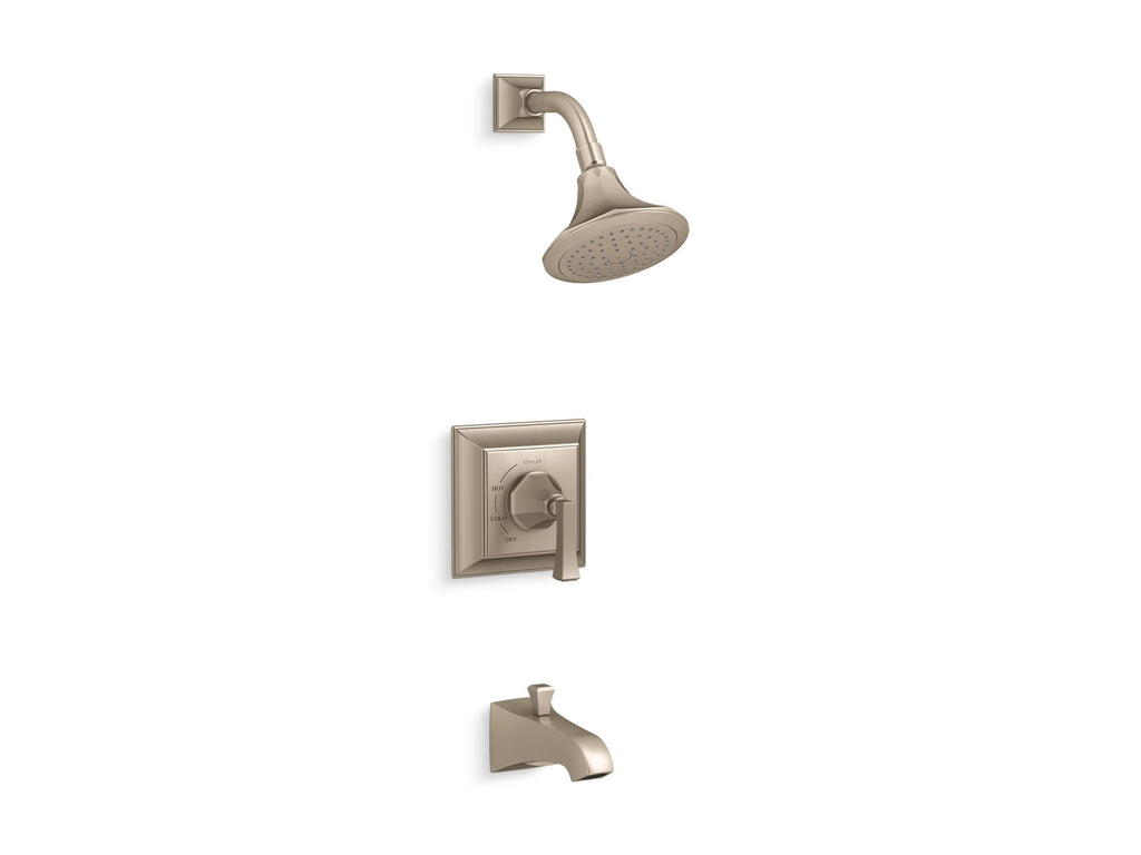 Bath & Shower Faucet Trim | Memoirs | Vibrant Brushed Bronze | GROF USA