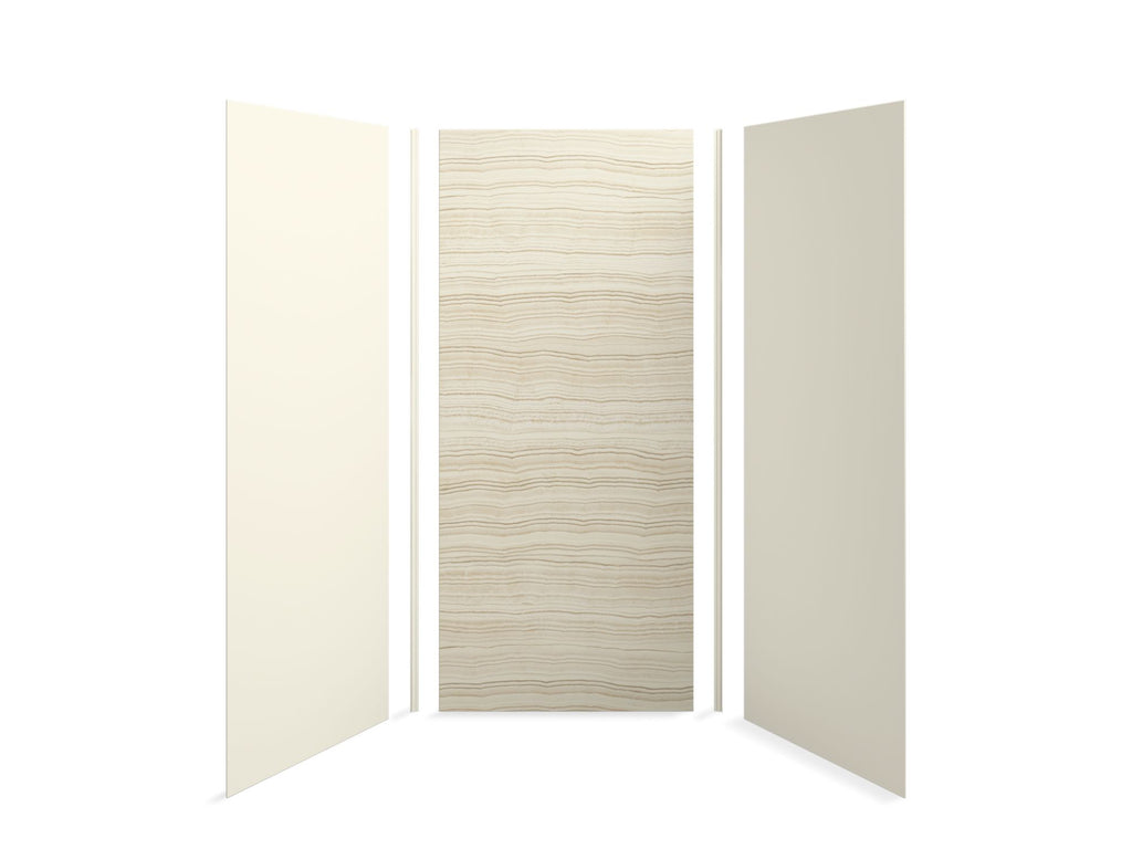 Shower Panel | Choreograph | Veincut Biscuit with Biscuit Accents | GROF USA
