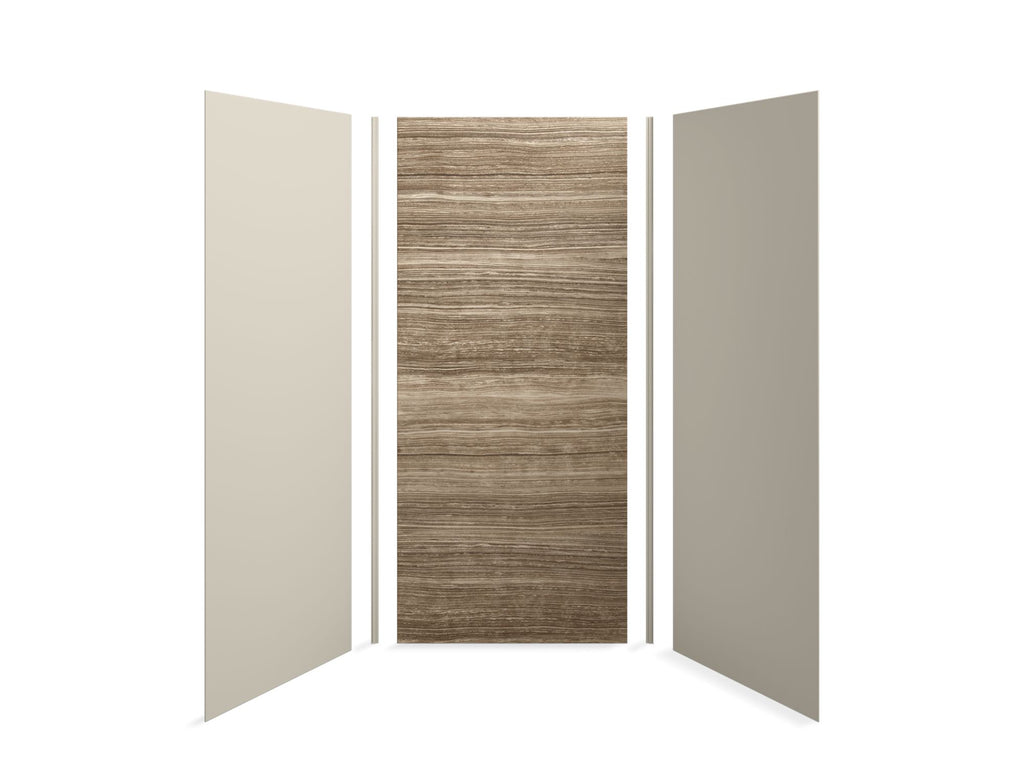 Shower Panel | Choreograph | Veincut Sandbar with Sandbar Accents | GROF USA