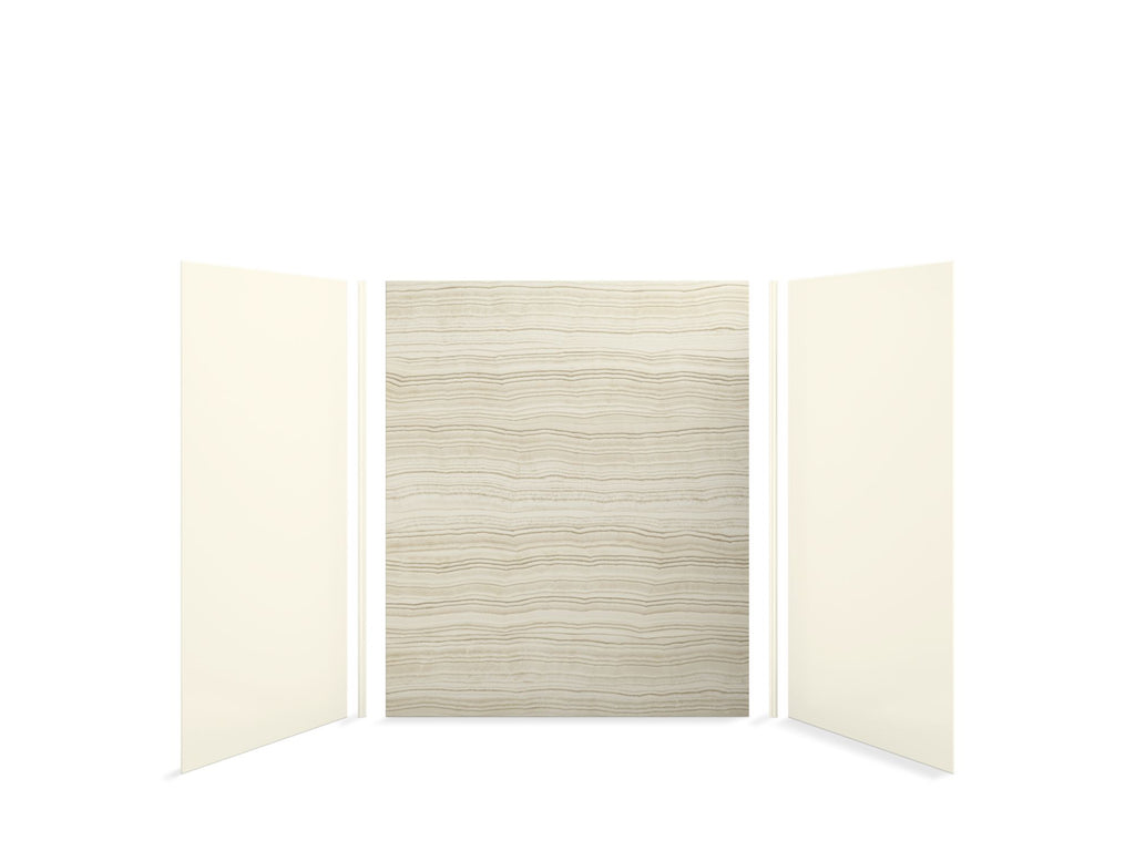 Bath Panel | Choreograph | Veincut Biscuit with Biscuit Accents | GROF USA