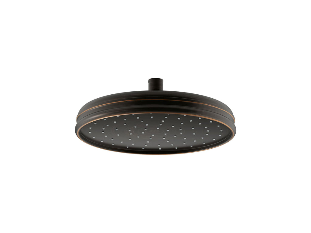 "Showerhead | 10"" TRADITIONAL ROUND RAIN SHOWERHEAD 