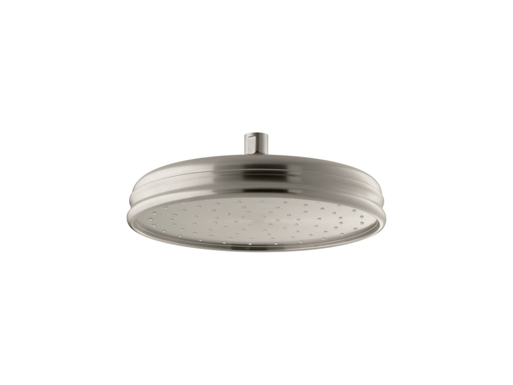Showerhead | Traditional | Vibrant Brushed Nickel | GROF USA
