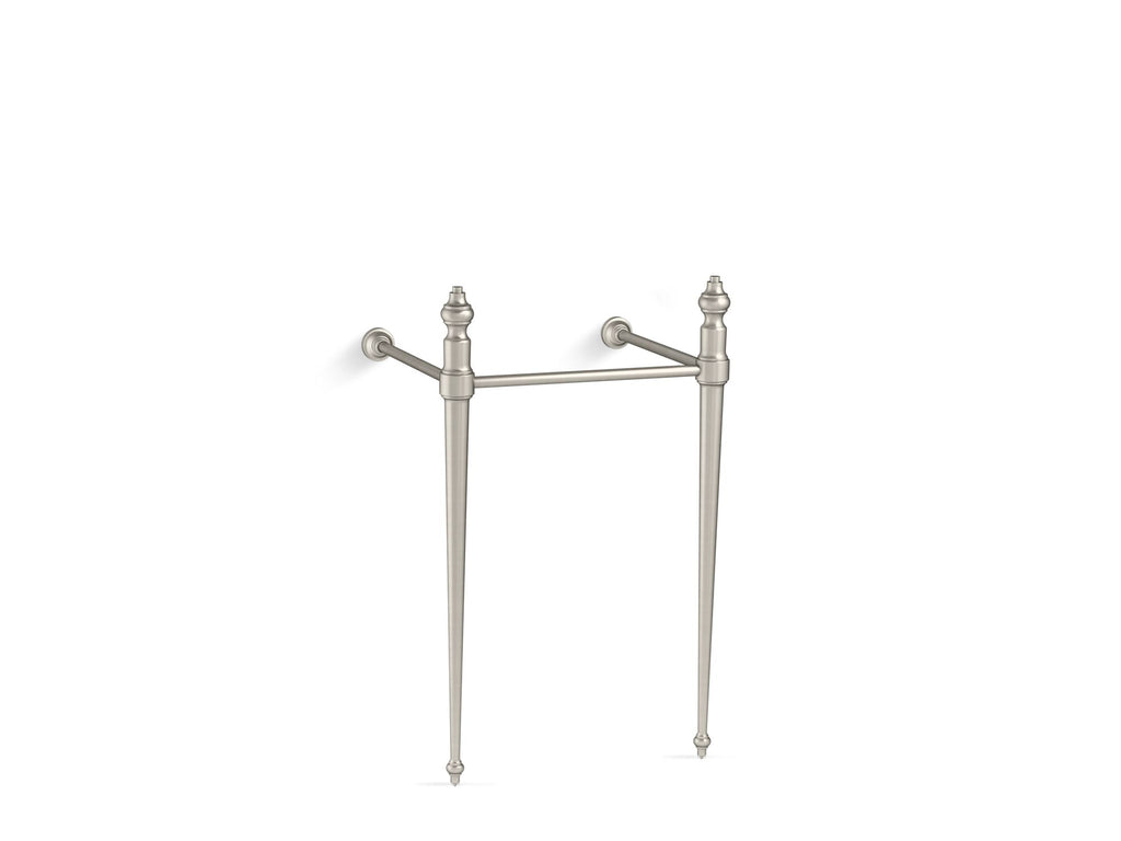 Console Table Legs | Memoirs | Vibrant Brushed Nickel | GROF USA