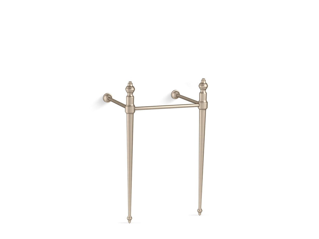 Console Table Legs | Memoirs | Vibrant Brushed Bronze | GROF USA