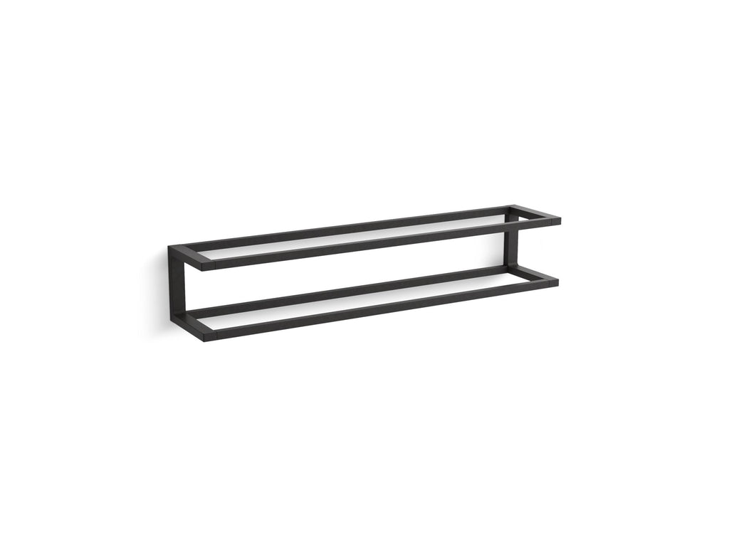 Towel Bar | Draft | Matte Black | GROF USA