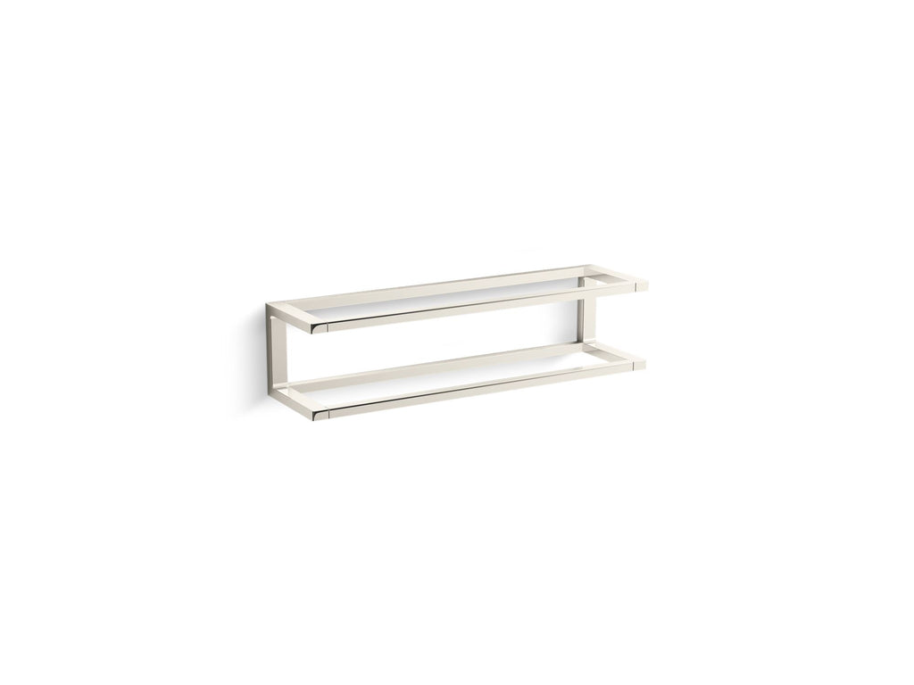 Towel Bar | Draft | Vibrant Polished Nickel | GROF USA