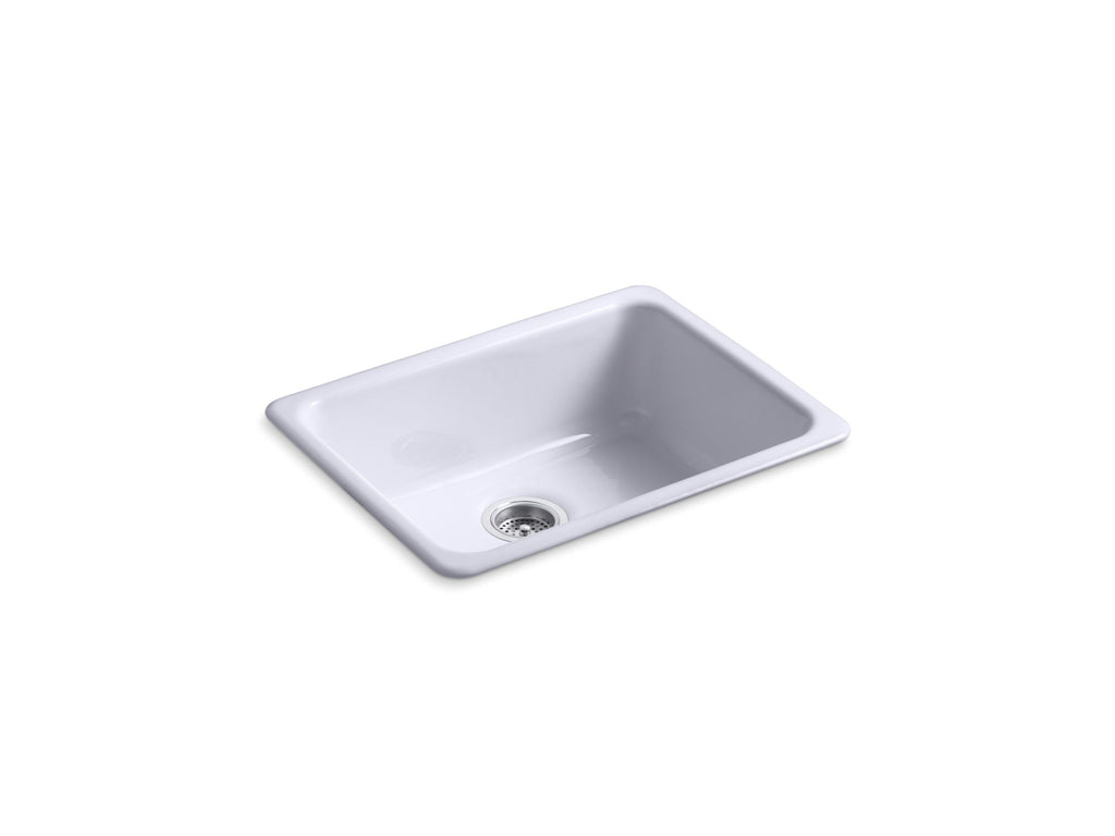 Kitchen Sink | Iron/Tones Undercounter/Self Rimming Rectangle Sink | Lavender Grey | GROF USA