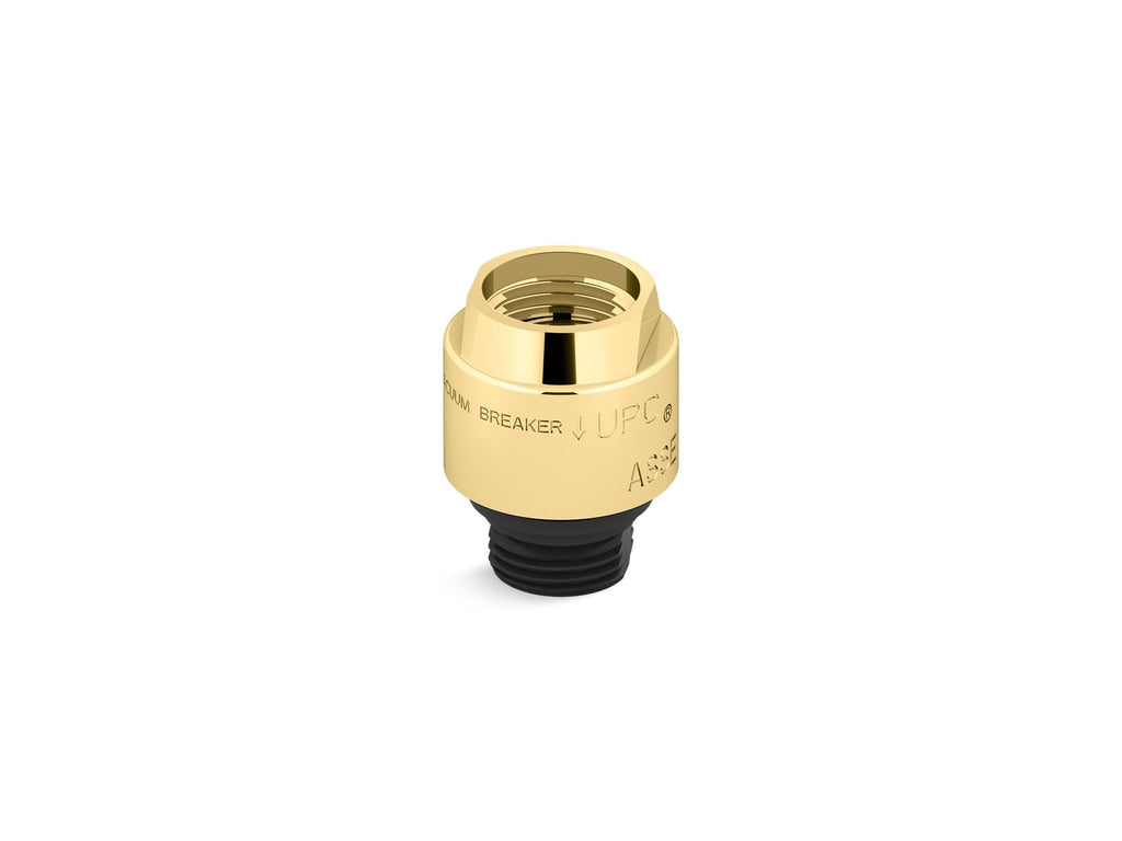 Vacuum Breaker | Persona | Vibrant Polished Brass | GROF USA