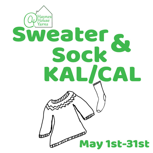 Giveaway: Spring Sweater & Sock KAL/CAL