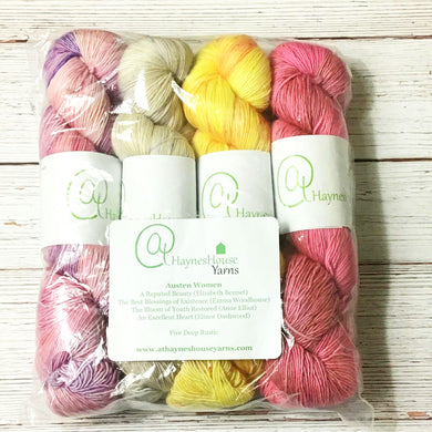 Dye to Order // Austen Women Kit (4 Skeins)