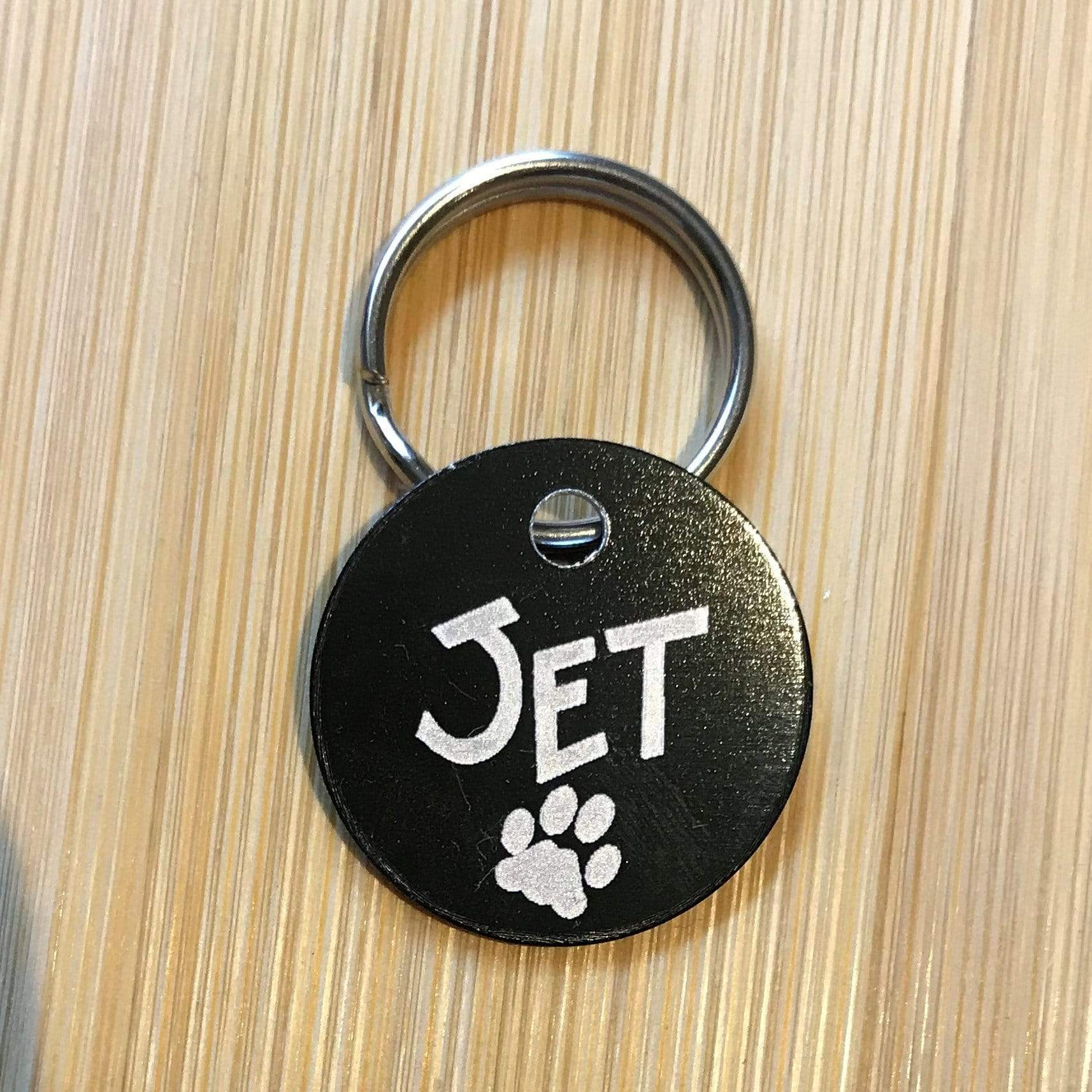 A TEST Designer Pet ID Tags (engraved both sides) Pet Tag Pet ID Tags