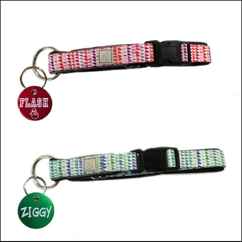 Comfort Dog Collar and Pet Tag Pet ID Tags