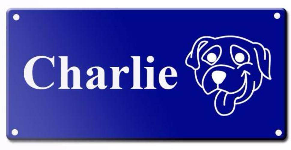Engraved Pet Name Signs - Large Pet Tag Pet ID Tags