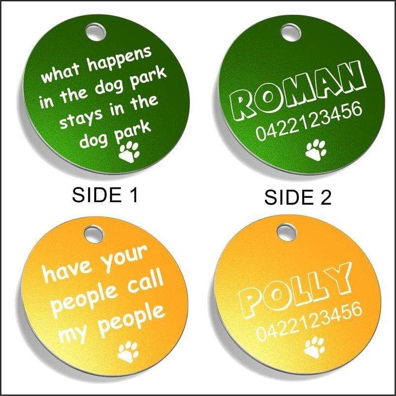 FUNNY Pet ID Tags Pet Tag Pet ID Tags