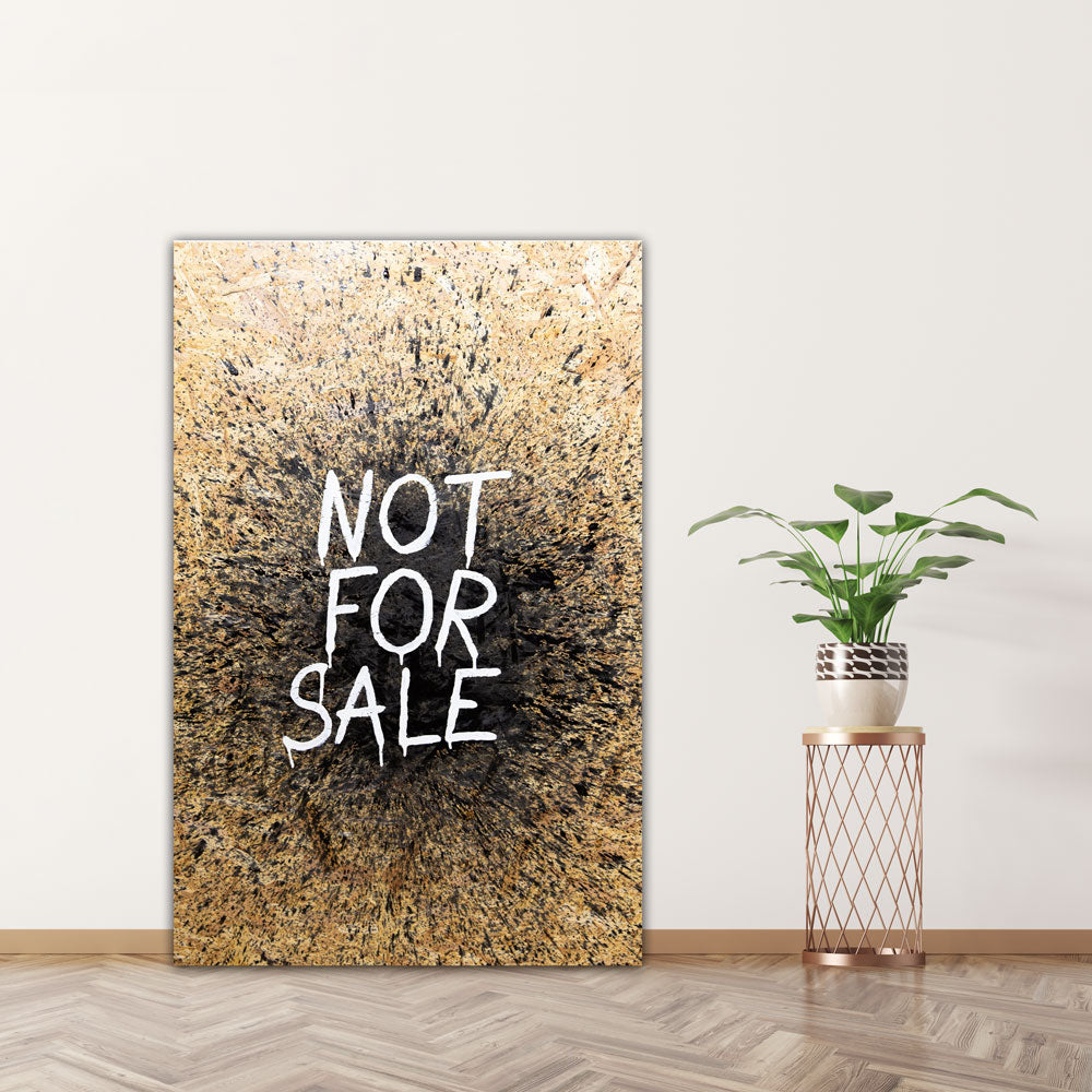 Not for sale (Original)