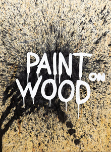 Paint on wood (Original)