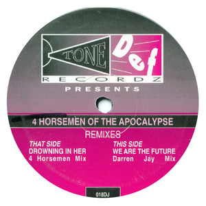 4 Horsemen 'Drowning In Her / We Are The Future (Remixes Pt. 1)' 10""