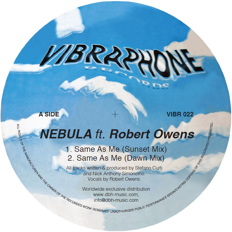 Nebula feat. Robert Owens 'Same As Me (incl. Simoncino RMX)' 12""