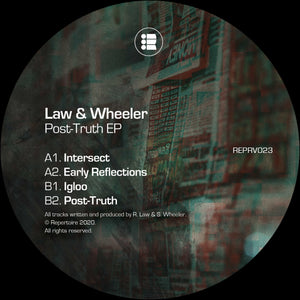 Law & Wheeler 'Post-Truth EP' 12""