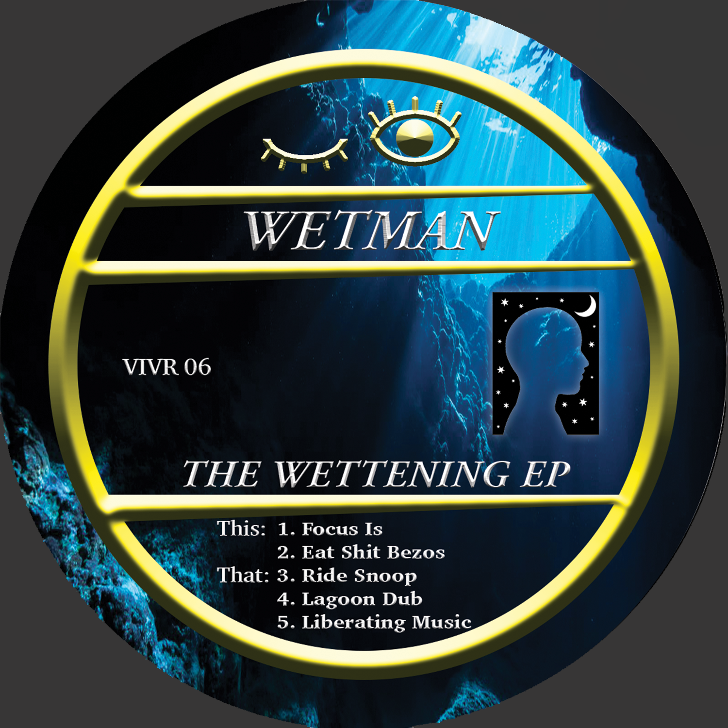 Wetman 'The Wettening EP' 12''