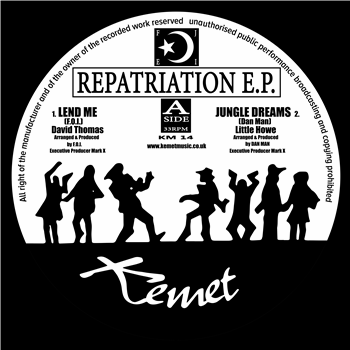 V/A Repatriation EP Re-Master 12""