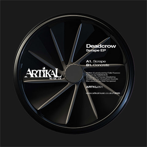 Deadcrow 'Scrape EP' 12""