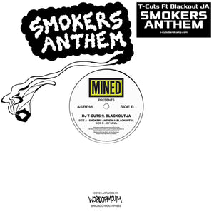 DJ T-Cuts 'Smokers Anthem ft Blackout JA / My Soul' 12""