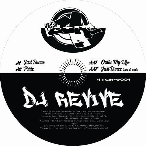 *PRE-ORDER* Dj Revive 'Just Dance' EP 12""