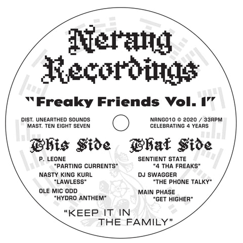 *PRE-ORDER* Various Artists 'Freaky Friends Volume 1' 12""