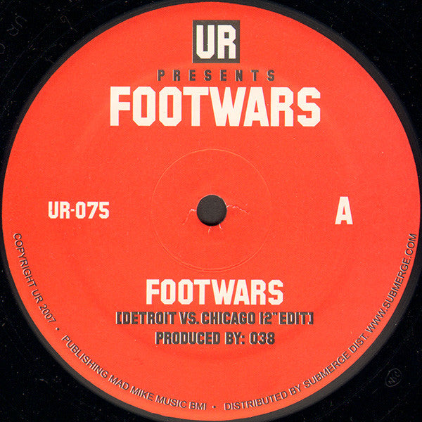 UR 'Footwards' 12""