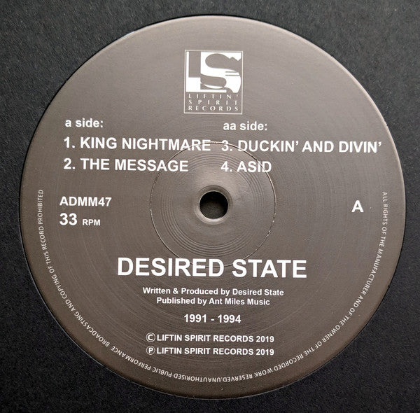 Desired State ‎'King Nightmare' 12""