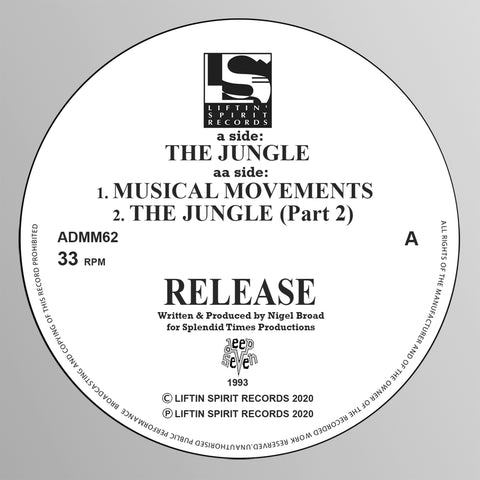 Release 'The Jungle / Musical Movements / The Jungle Pt.2' 12""