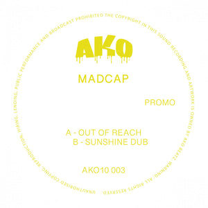 "Madcap 'Out Of Reach' 10"" (Yellow Vinyl)"
