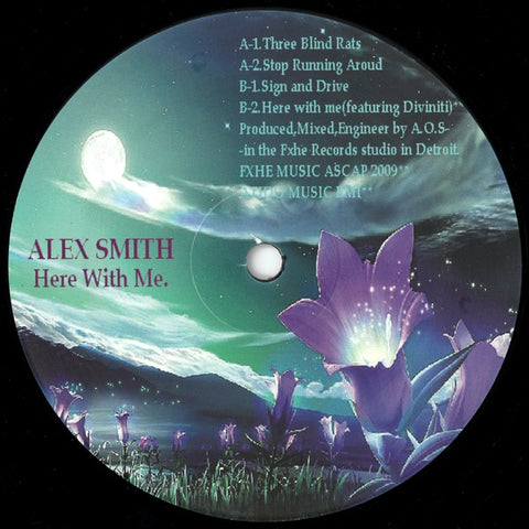 Alex Smith ‎'Here With Me' 12""