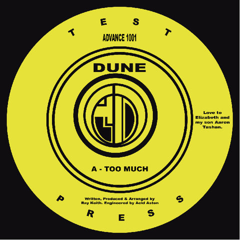 Dune (Ray Keith) 'Too Much' 12""