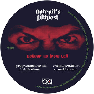 Detroit's Filthiest 'Deliver Us From Evil' 12""
