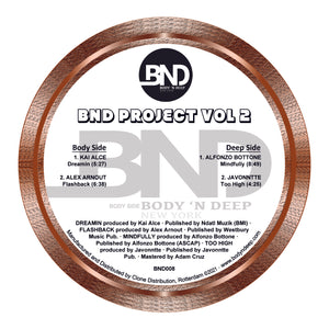 "BND Project 'Vol 2' 12"" [Import]"