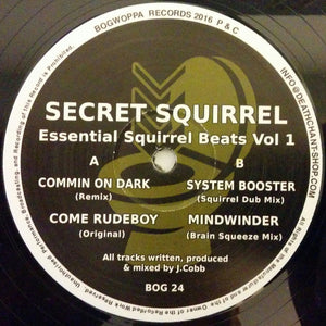 Secret Squirrel ‎'Essential Squirrel Beats Vol 1' 12""