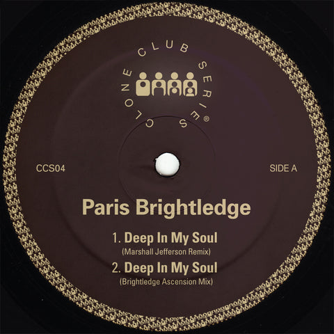 "Paris Brightledge 'Deep In My Soul' 12"" [Import]"