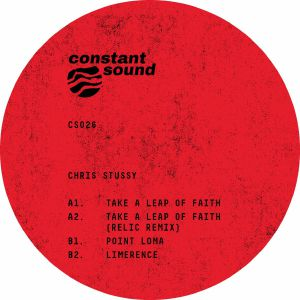 *PRE-ORDER* Chris Stussy 'Take A Leap Of Faith (incl Relic remix)' 12""