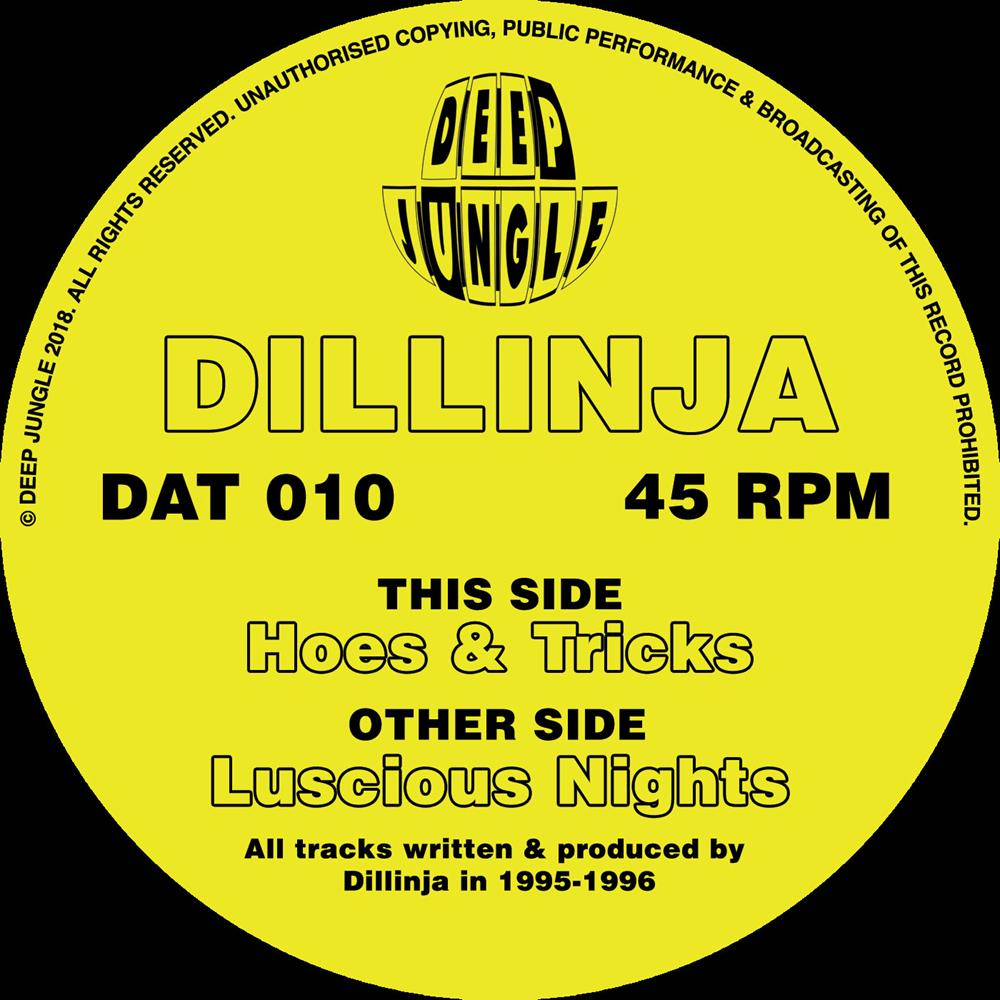 Dillinja 'Hoes & Tricks / Luscious Nights 12""