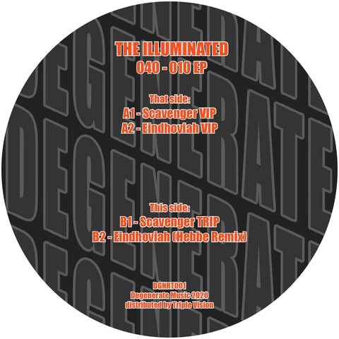 The Illuminated remix Hebbe '040 - 010 EP' [vinyl only / 180 grams / sticker insert] 12""