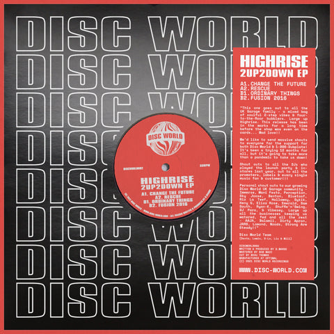 Highrise '2Up2Down EP' 12""